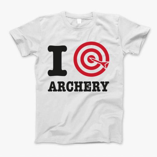 Archery Target funny t-shirt