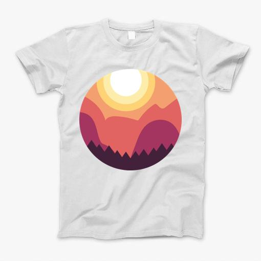 Our Sun and Forest design is created by artists who makes stunning works of art that come to life through rich and vibrant colors. These designs are unique masterpieces making them wonderful gifts to your friends and loved ones.